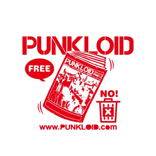 PUNKLOID / LOID Tee(WHITE × RED)