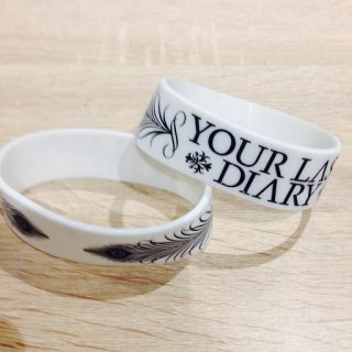 YOUR LAST DIARY / LOGO RUBBER BAND Designed by NOHEROES (WhitexBlack)