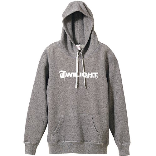 TWILIGHT RECORDS / LOGO PULLOVER (Gray)
