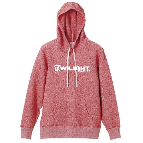 TWILIGHT RECORDS / LOGO PULLOVER (Red)
