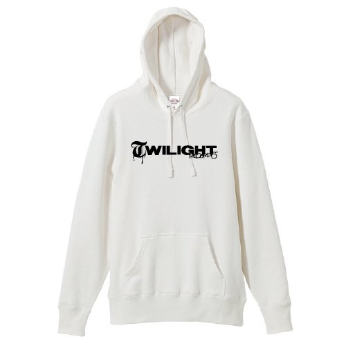 TWILIGHT RECORDS / LOGO PULLOVER (White)