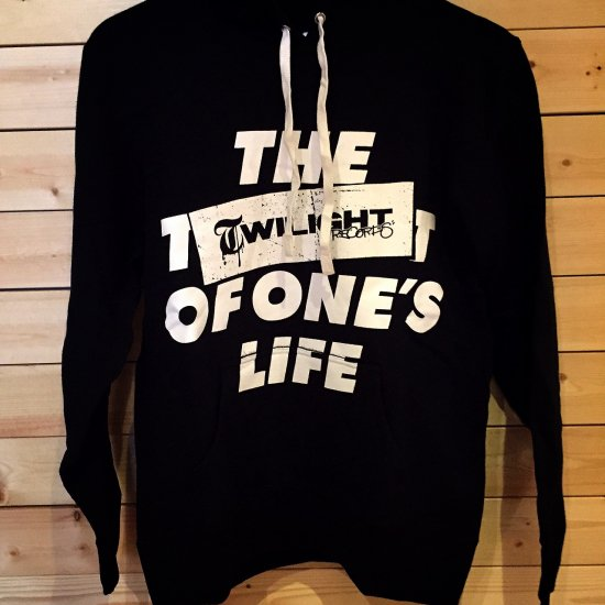 TWILIGHT RECORDS / LIFE PULLOVER (Black)