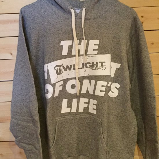 TWILIGHT RECORDS / LIFE PULLOVER (Gray)