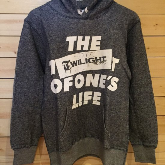 TWILIGHT RECORDS / LIFE PULLOVER (Navy)
