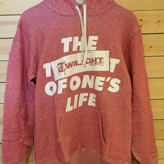 TWILIGHT RECORDS / LIFE PULLOVER (Red)