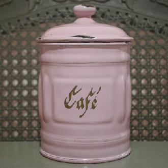 アンティークキャニスター1920 -Caféコーヒー-
