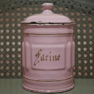 アンティークキャニスター1920 -Farine 小麦粉-