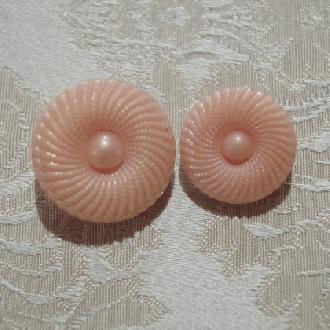 ボタン(ピンク)ヴィンテージ 1920