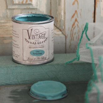 ヴィンテージペイント - Old Turquiose -100 ml