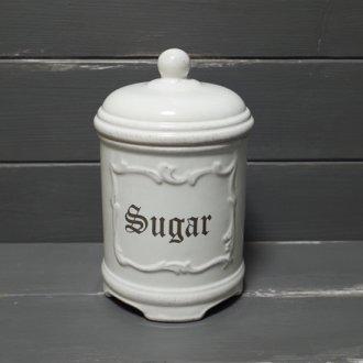 アンティーク風キャニスター  -Sugar 砂糖-