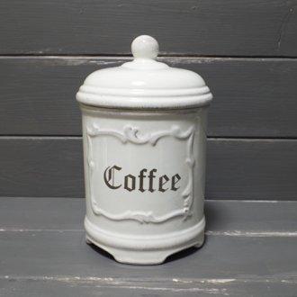 アンティーク風キャニスター  -Coffee コーヒー-