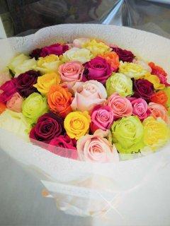 愛する人にバラを贈ろう MIXバラ花束
