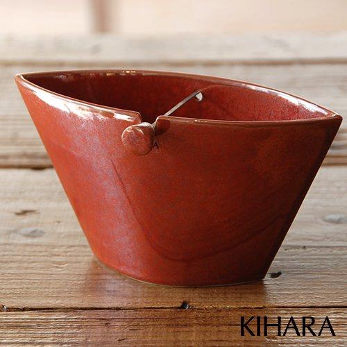 KIHARA キハラ 蚊とり器 蚊遣り 柿赤/レッド