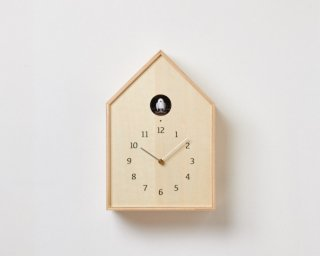 Birdhouse Clock バードハウスクロック / ナチュラル
