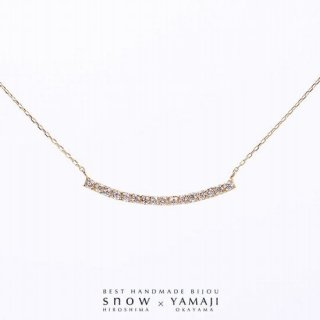 『DIAMOND SIGNAL & BAR』バーネックレス