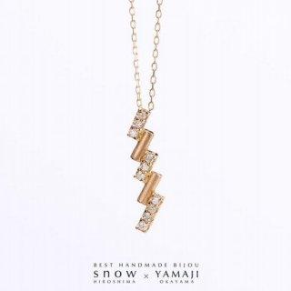 『DIAMOND SIGNAL & BAR』シグナルネックレス