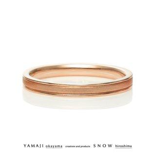 『LOVE LETTER/ラブレター』K18ピンクゴールド マリッジリング(結婚指輪)