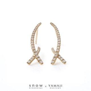 『DIAMOND SPUR/ダイヤモンドシュプール』K18ゴールドピアス