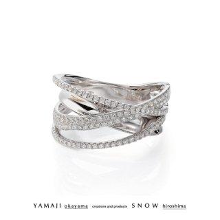 『DIAMOND SPUR/ダイヤモンドシュプール』K18ゴールドリング