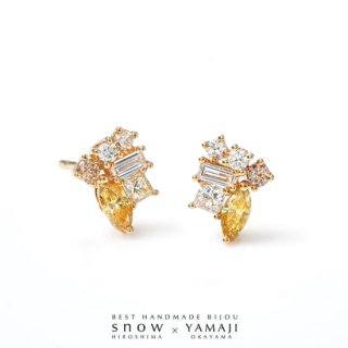 <img class='new_mark_img1' src='https://img.shop-pro.jp/img/new/icons43.gif' style='border:none;display:inline;margin:0px;padding:0px;width:auto;' />『HONEY-POT YELLOW DIAMOND/ハニーポットイエローダイヤモンド』ピアス