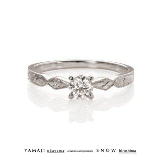『Conté clasico/西洋彫刻のゆびわ』エンゲージリング(婚約指輪)