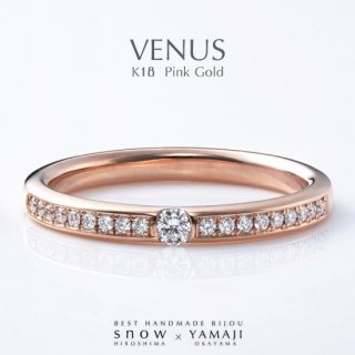 <img class='new_mark_img1' src='https://img.shop-pro.jp/img/new/icons5.gif' style='border:none;display:inline;margin:0px;padding:0px;width:auto;' />SPRING CLOSE-UP『VENUS/ヴィーナス』K18ピンクゴールド エタニティリング