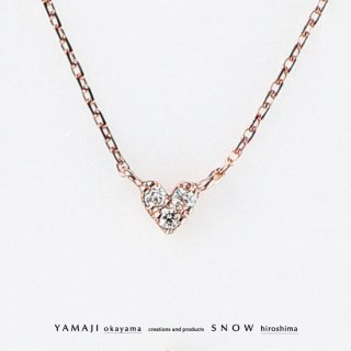<img class='new_mark_img1' src='https://img.shop-pro.jp/img/new/icons5.gif' style='border:none;display:inline;margin:0px;padding:0px;width:auto;' />『TINY HEART/タイニーハート』K10ピンクゴールド ネックレス