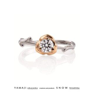 『ROSE ROSE/ローズローズ』ダイヤモンドリング(婚約指輪)