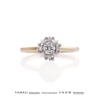 『ring of fortune star』/星のゆびわ ダイヤモンドリング