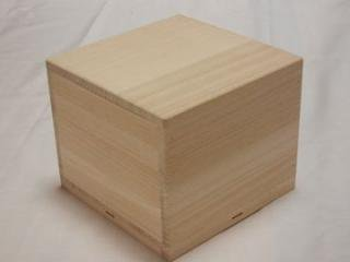 茶道具茶碗用 桐箱 5個セット 14.8×9.7