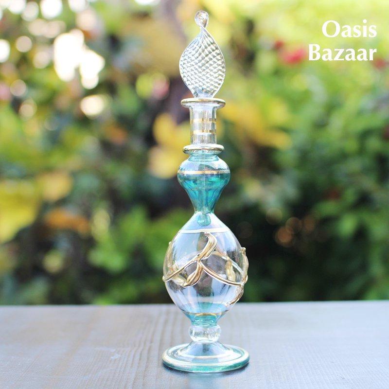 エジプトガラス香水瓶 【22K GOLD】