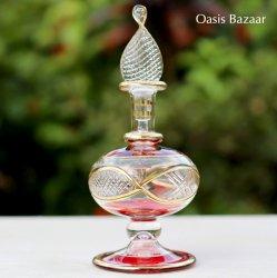 エジプトガラス香水瓶 <br>【22K GOLD】