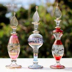 [送料無料!]エジプト香水瓶3本セット。