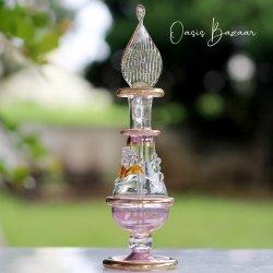 エジプト香水瓶 パープル