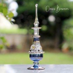 エジプト香水瓶 ブルー