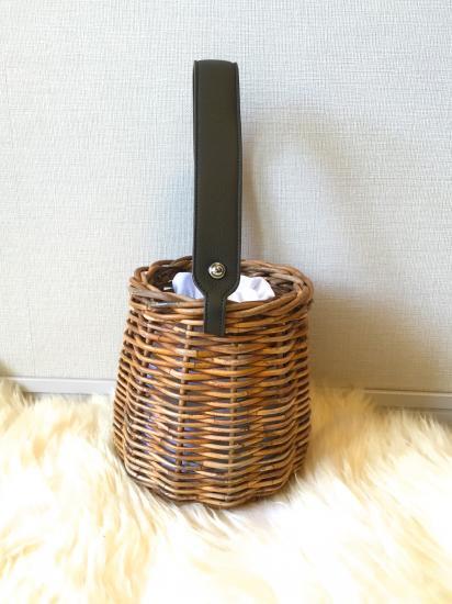 【2/23より発送】バケットバスケットAW(シェイプ型)カーキ