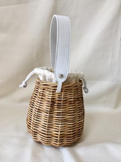 【5/22より発送】バケットバスケット17SS(シェイプ型)ホワイト