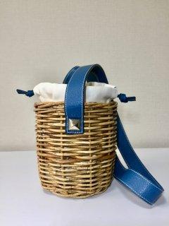 ショルダーバスケット17SS  ブルー