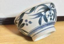 砥部焼◆お茶漬碗