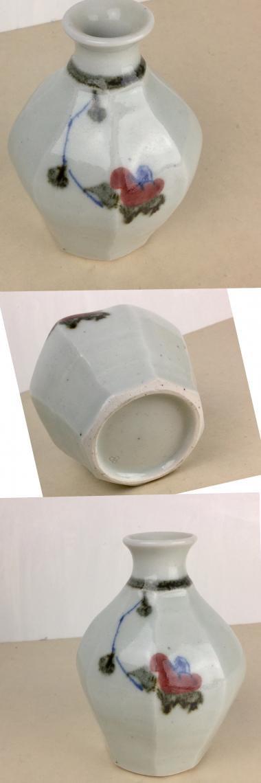 中田窯,最大幅9.5cm×高さ12.5cm,磁器