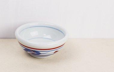 梅山窯,径10cm×高4.3cm,磁器