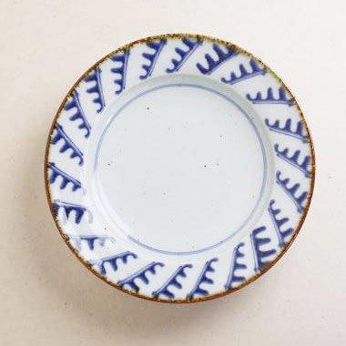 中田窯,外径21.8cm×高さ4.0cm,磁器