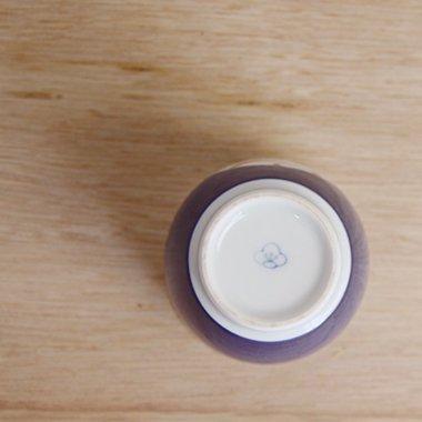 廣梅窯,径約8.1cm×高約9.2cm,磁器
