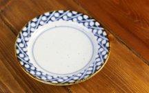 砥部焼◆5寸リム皿■すずらん