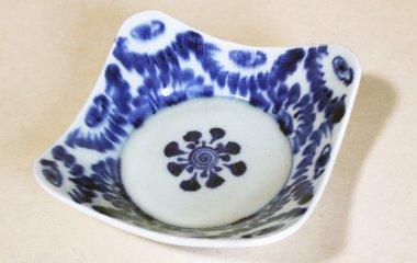 中田窯,外径17cm×高約3〜5cm,磁器(鉄入)