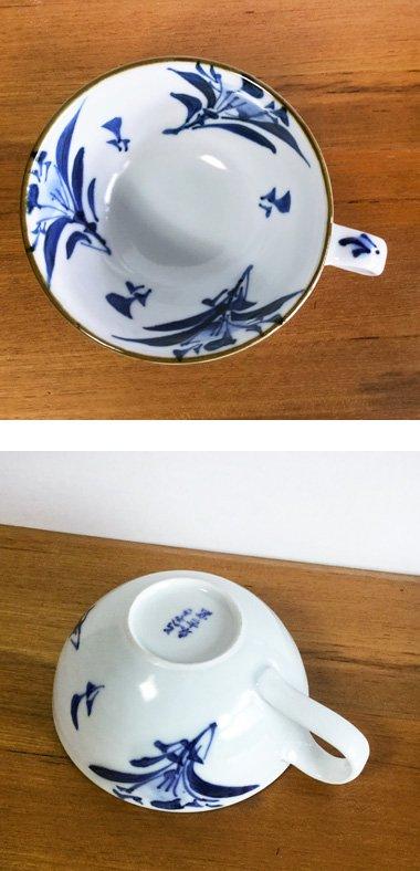 東吉窯,径約12cm高さ約5.5cm,磁器
