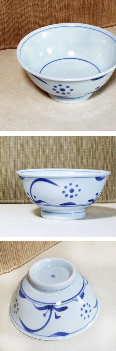 梅山窯,径約18cm×高約8.5cm,磁器