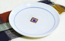 砥部焼◆7寸切立皿 (ぺん)