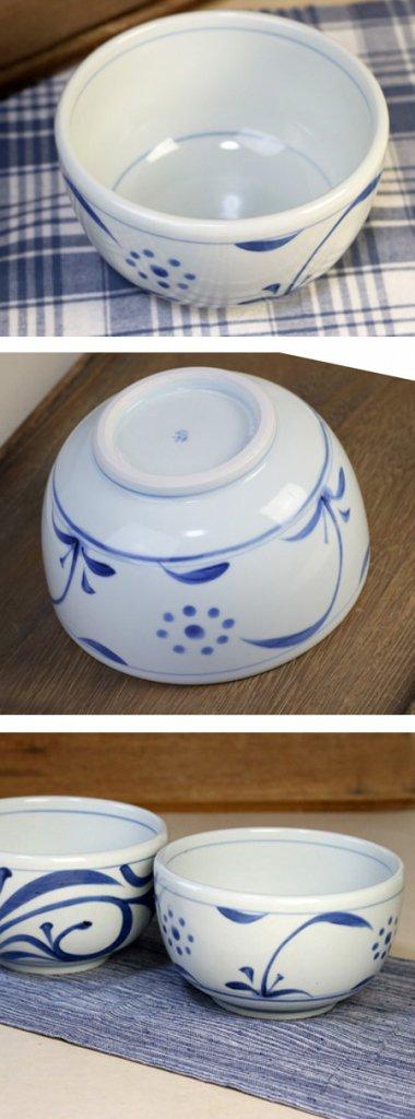 梅山窯,径約16cm×高約9cm,磁器