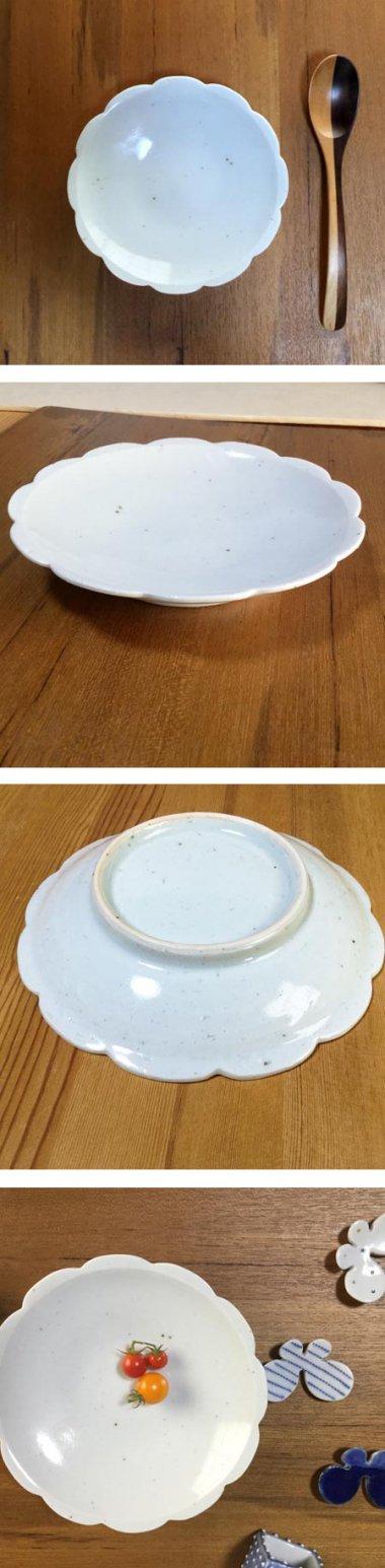 皐月窯,径約16cm×高約3cm,磁器